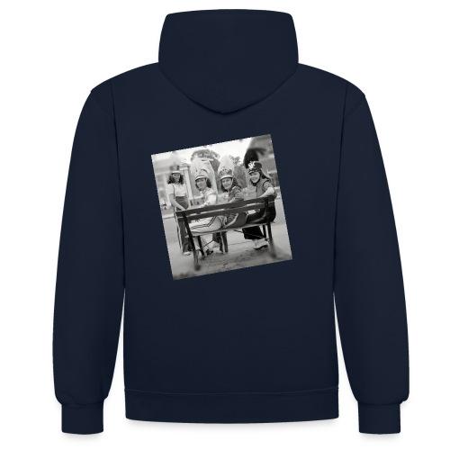drummergirls1942 - Contrast hoodie