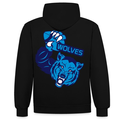 Wolves Rugby - Sweat-shirt contraste