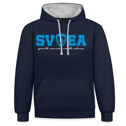 SV65EA - Kontrast-Hoodie