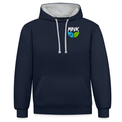 Logo MNK coeur - Sweat-shirt contraste