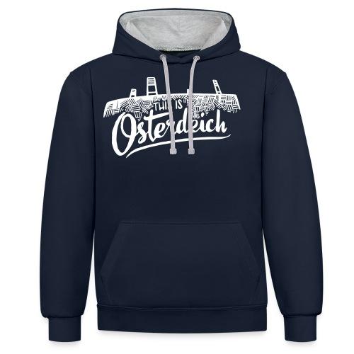 This is Osterdeich - Kontrast-Hoodie