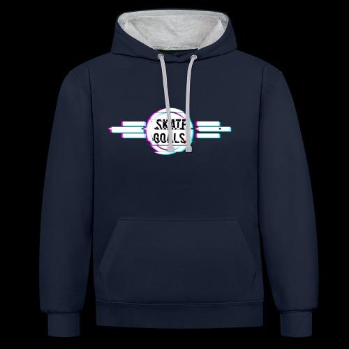 GLITCH SERIES - Contrast hoodie