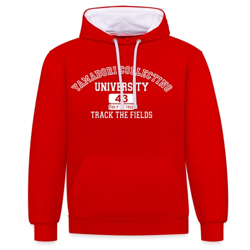 yamadori university 43 For P'tit Tree - Sweat-shirt contraste
