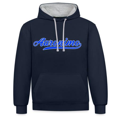 Aaronimo - Contrast hoodie