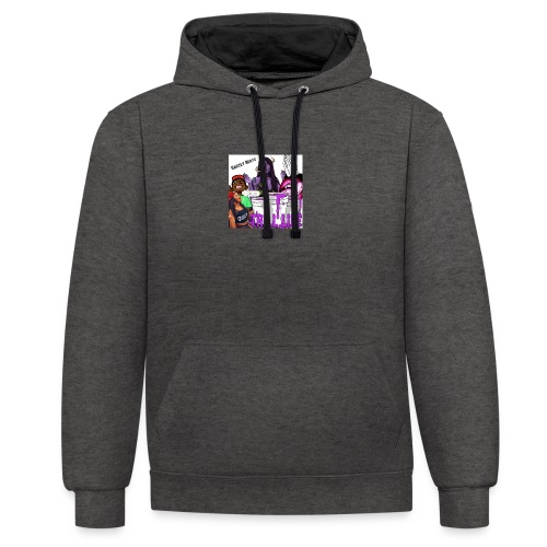 Barzey Beats - Contrast Colour Hoodie
