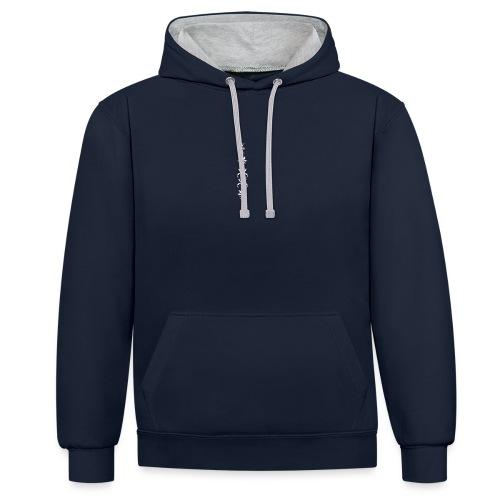 Broor design ornaments - Contrast hoodie