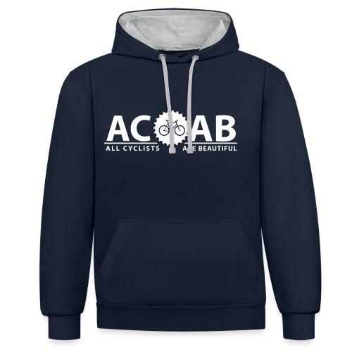 ACAB ALL CYCLISTS - Kontrast-Hoodie