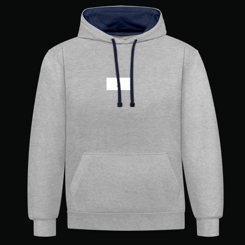 bafti hoodie - Kontrast-hættetrøje