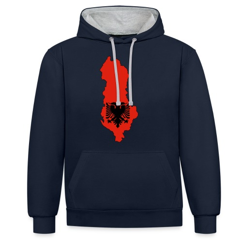 Albania - Sweat-shirt contraste