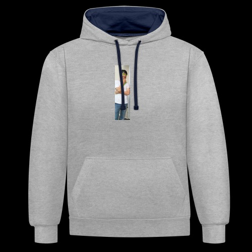 JACOB MCKAY LIMITED STOCK LONG SLEEVE. - Contrast Colour Hoodie