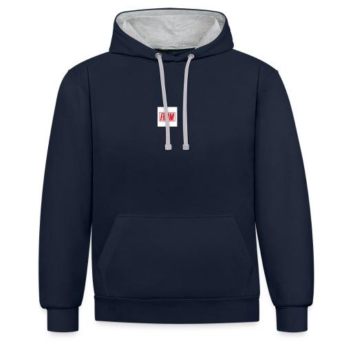 LogoSample ByTailorBrands - Contrast hoodie
