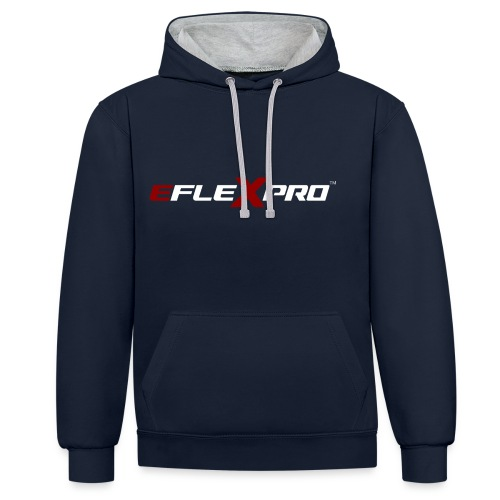 eFlexPro inverted - Contrast Colour Hoodie