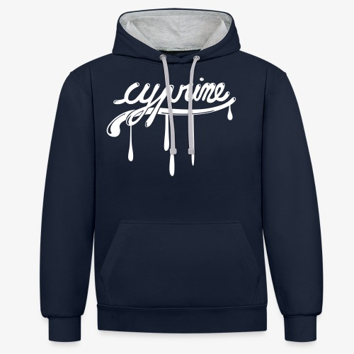 Cyprine KK BITE - Sweat-shirt contraste