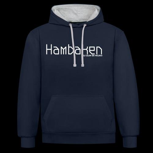 Hambaken Plasmatic Regular - Contrast hoodie