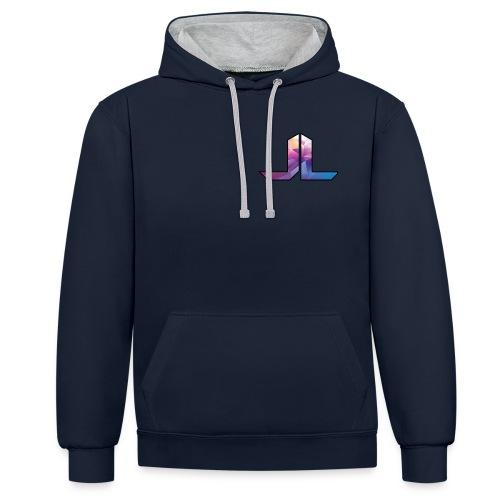 JackLangston501 Logo - Contrast Colour Hoodie