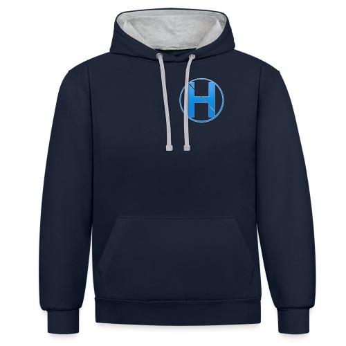 HorneHD Logo - Contrast Colour Hoodie