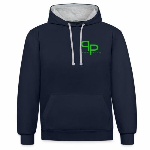 groen png - Contrast hoodie