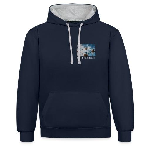 Brussels   Atomium - Contrast hoodie
