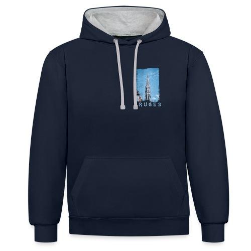 Bruges   Belfort - Contrast hoodie
