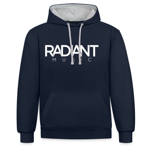 RadiantMusic Small - Contrast Colour Hoodie