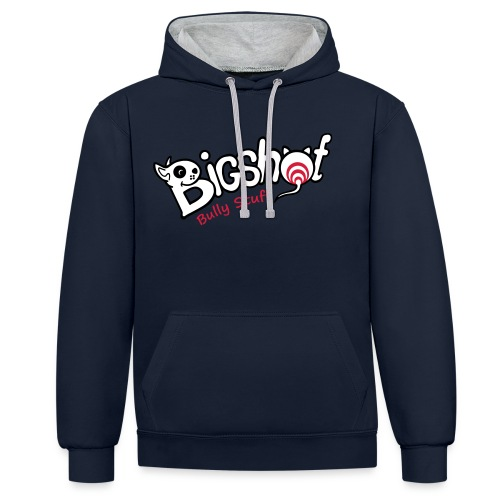Bigshot Bully Stuff - Contrast hoodie