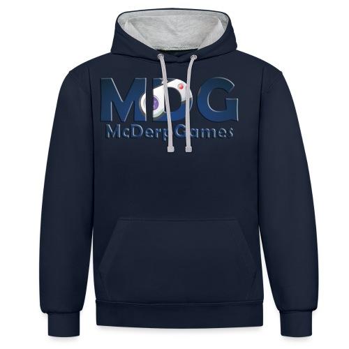 MDG McDerpGames - Contrast hoodie