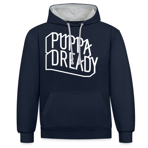 Puppa Dready ligne - Sweat-shirt contraste