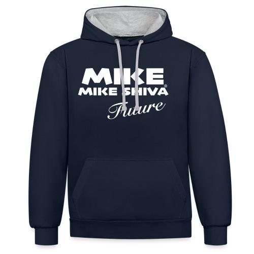 MIKE SHIVA - Kontrast-Hoodie