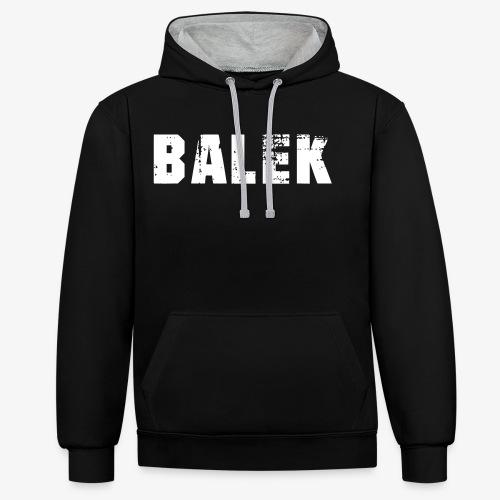 BALEK - Sweat-shirt contraste
