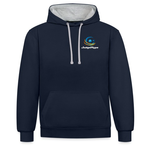 Logo JudgeHype - Sweat-shirt contraste