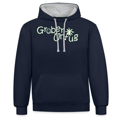 T Shirts Grober Unfug - Kontrast-Hoodie