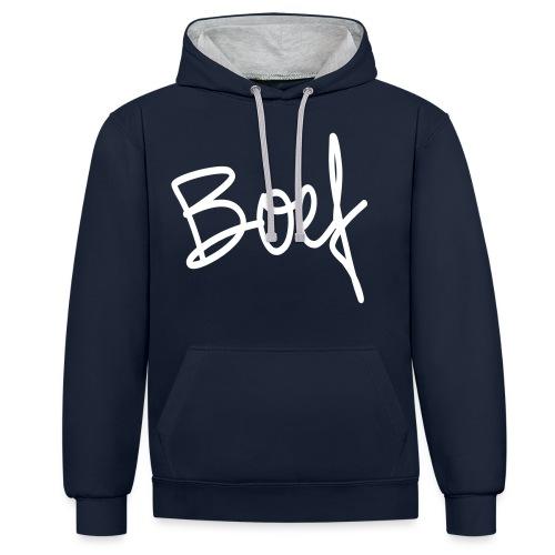 Boef - Contrast hoodie