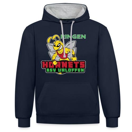 ASV_Hornets_dark - Kontrast-Hoodie