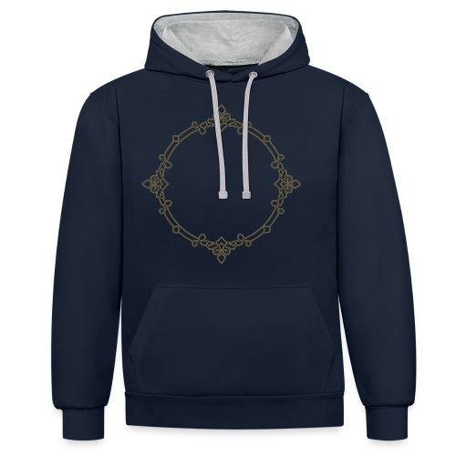 MONOGRACIA | BY VALORSTUDIO | - Contrast hoodie