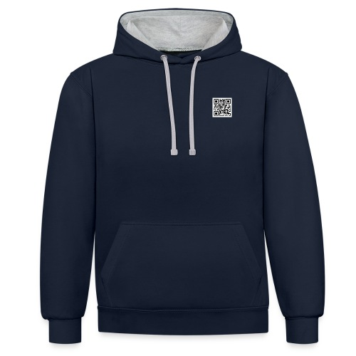 shy - Contrast Colour Hoodie