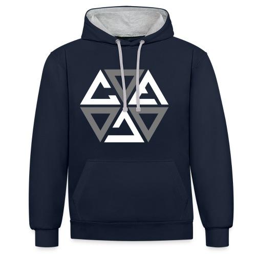 cosmicgreen - Contrast hoodie