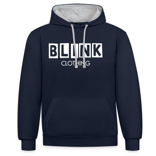 BLINK LOGO - Contrast hoodie