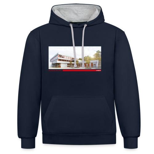 HRSU Wear Building - Kontrast-Hoodie