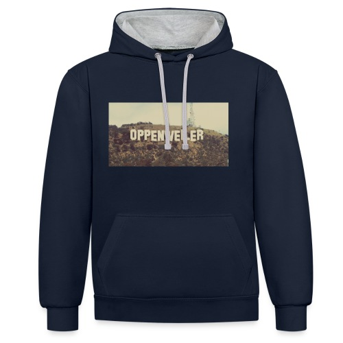 OPPES goes HOLLYWOOD - Kontrast-Hoodie