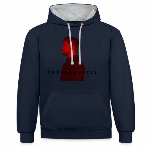 Kevin Alexis Merchandise - Kontrast-Hoodie