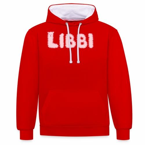 LIBBI - Kontrast-Hoodie