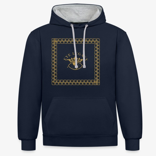 EYE LEGACY (Gold) - Contrast Colour Hoodie