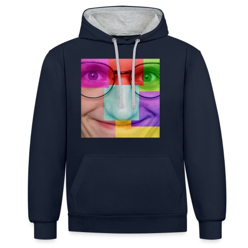 Bigface Moldave psyché édition - Sweat-shirt contraste