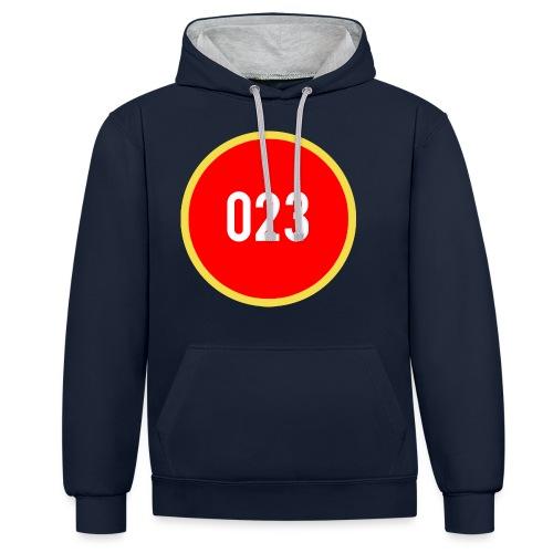 023 logo 2 - Contrast hoodie