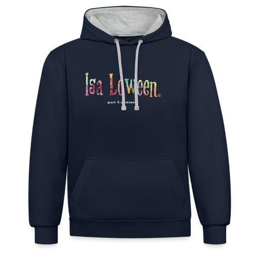 Isa Loween Art & Design Logo - Sweat-shirt contraste