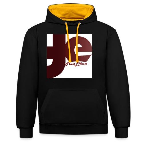 company logo - Contrast Colour Hoodie