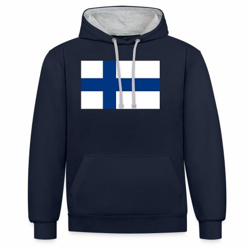 Suomenlippu - tuoteperhe - Kontrastihuppari