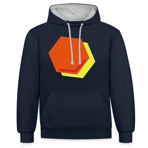 detail2 - Contrast hoodie