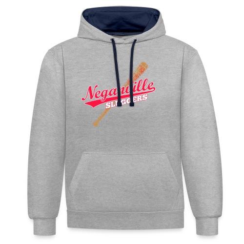 Neganville Sluggers - Contrast Colour Hoodie