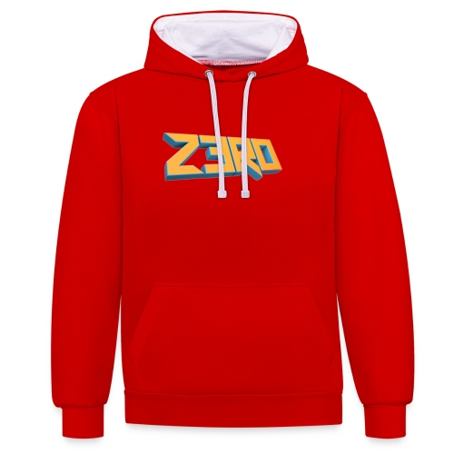 The Z3R0 Shirt - Contrast Colour Hoodie